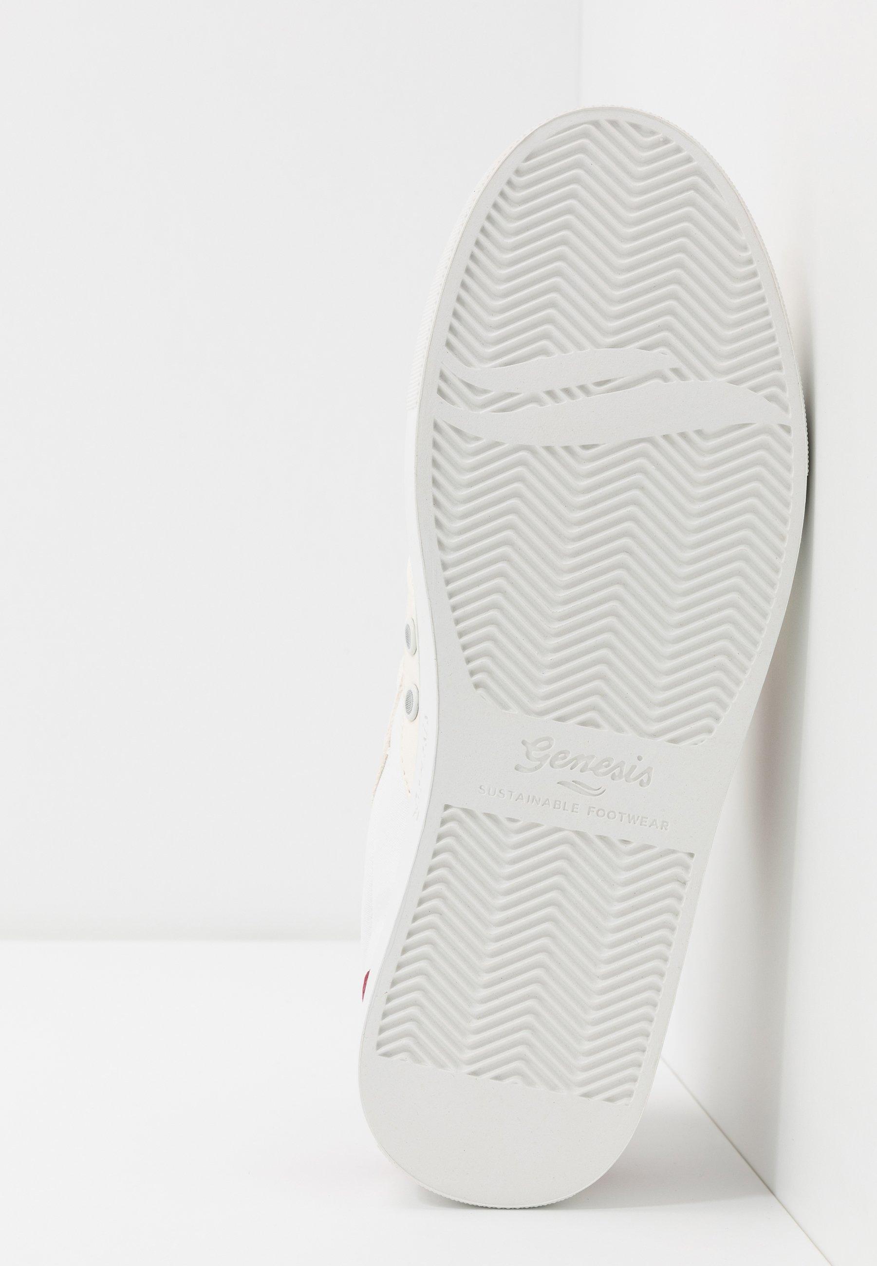Genesis SOLEY - Sneakers - white/wine