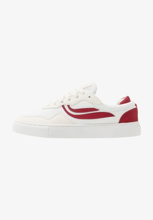 SOLEY - Sneakers laag - white/wine