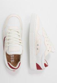 Genesis - SOLEY - Sneaker low - white/wine - 1