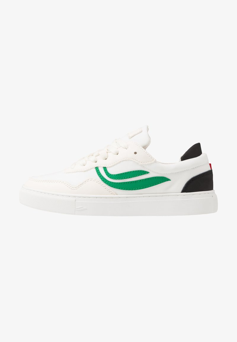 Genesis - SOLEY - Sneaker low - white/green/black