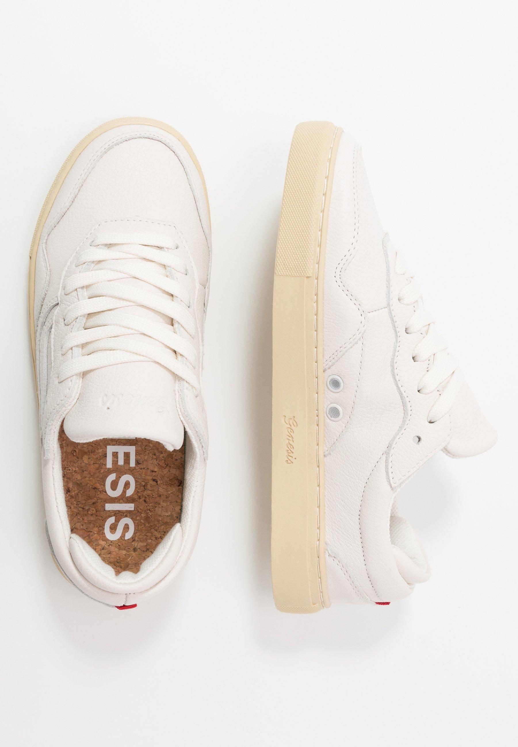 Genesis SOLEY TUMBLED - Sneakersy niskie - offwhite