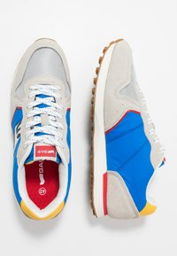 GAS Footwear - PARRIS - Trainers - white/light blu - 1