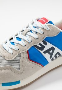 GAS Footwear - PARRIS - Trainers - white/light blu - 5