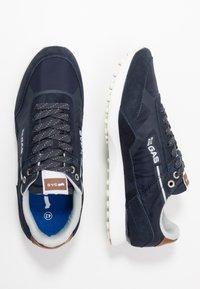 GAS Footwear - BORA MIX - Trainers - navy - 1