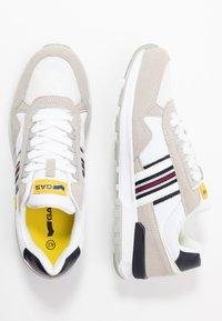 GAS Footwear - CARL SHINY  - Sneakers laag - white - 1