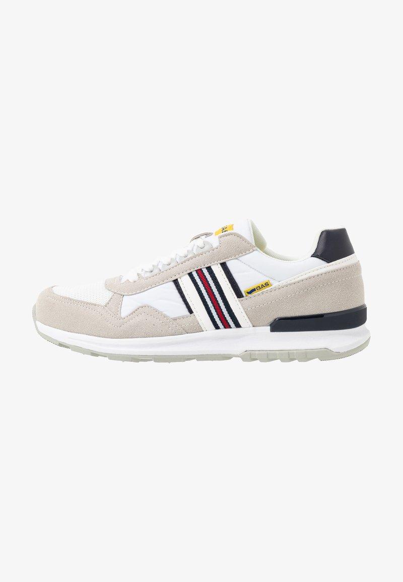 GAS Footwear - CARL SHINY  - Sneakers laag - white