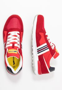 GAS Footwear - CARL SHINY  - Trainers - red - 1