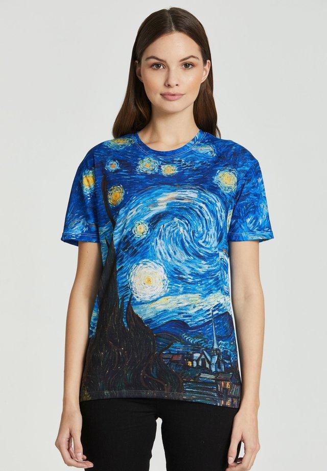 THE STARRY - Print T-shirt - blue