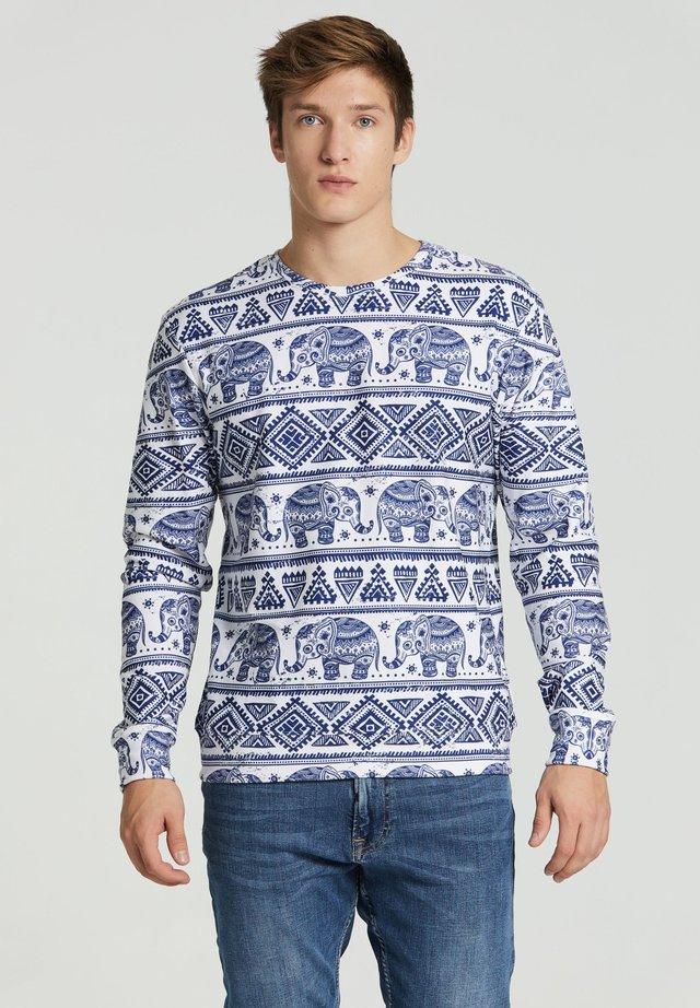 ELEPHANTS - Sweatshirt - white