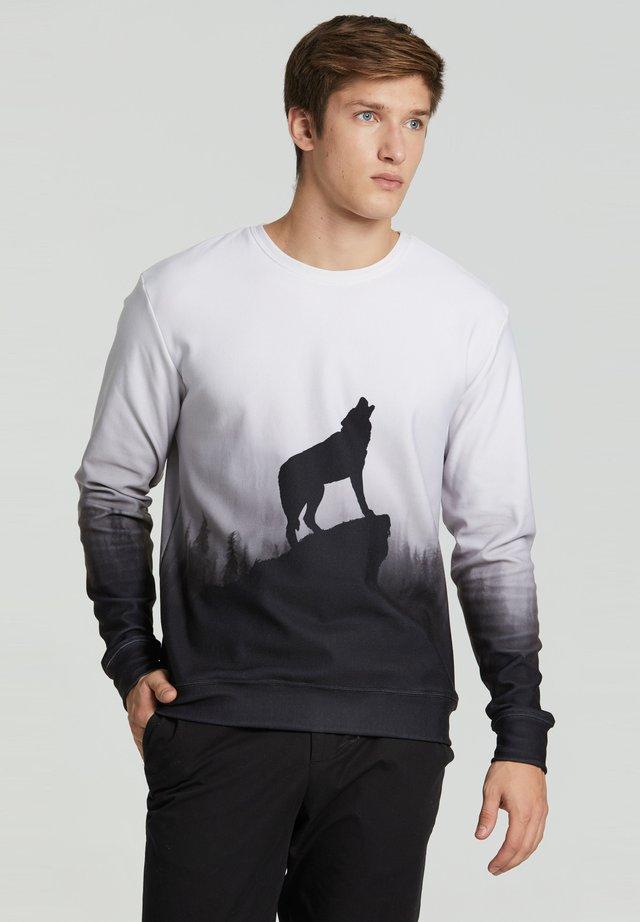 SHADOW OF WOLF  - Sweatshirt - grey