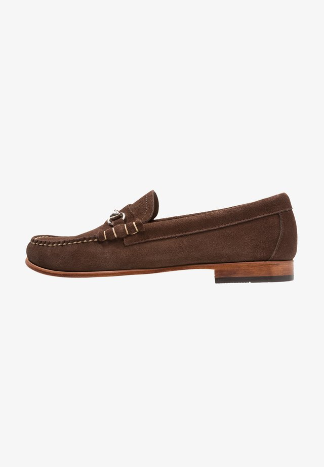 WEEJUN PALM SPRINGS LINCOLN REVERSO - Slipper - dark brown