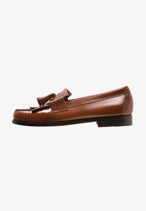 WEEJUN LAYTON MOC KILTIE - Business-Slipper - mid brown