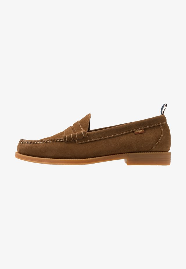 WEEJUN LARSON - Slipper - mid brown