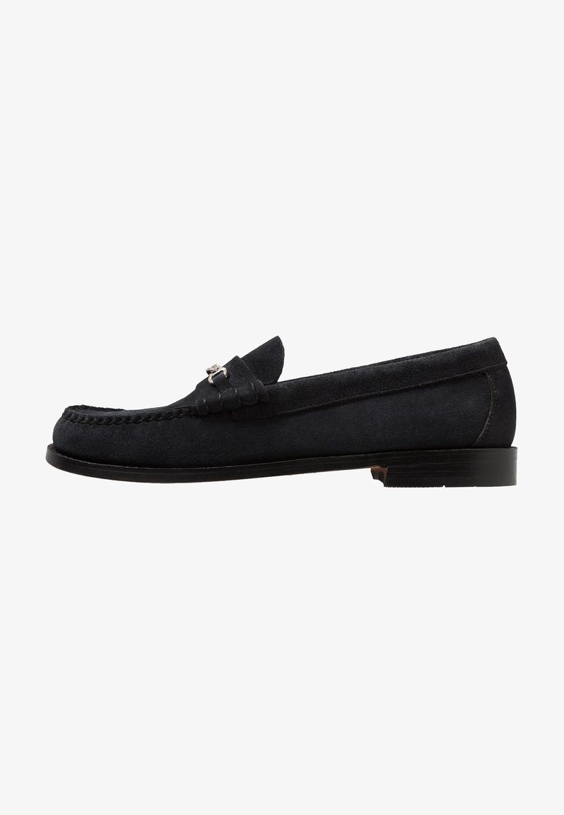 G. H. Bass & Co. - WEEJUN LINCOLN REVERSO - Slip-ons - navy