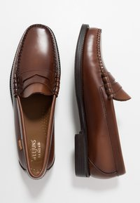 G. H. Bass & Co. - WEEJUN LARSON PENNY - Smart slip-ons - mid brown - 1