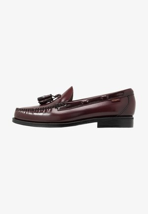WEEJUN LARKIN TASSEL - Business-Slipper - wine