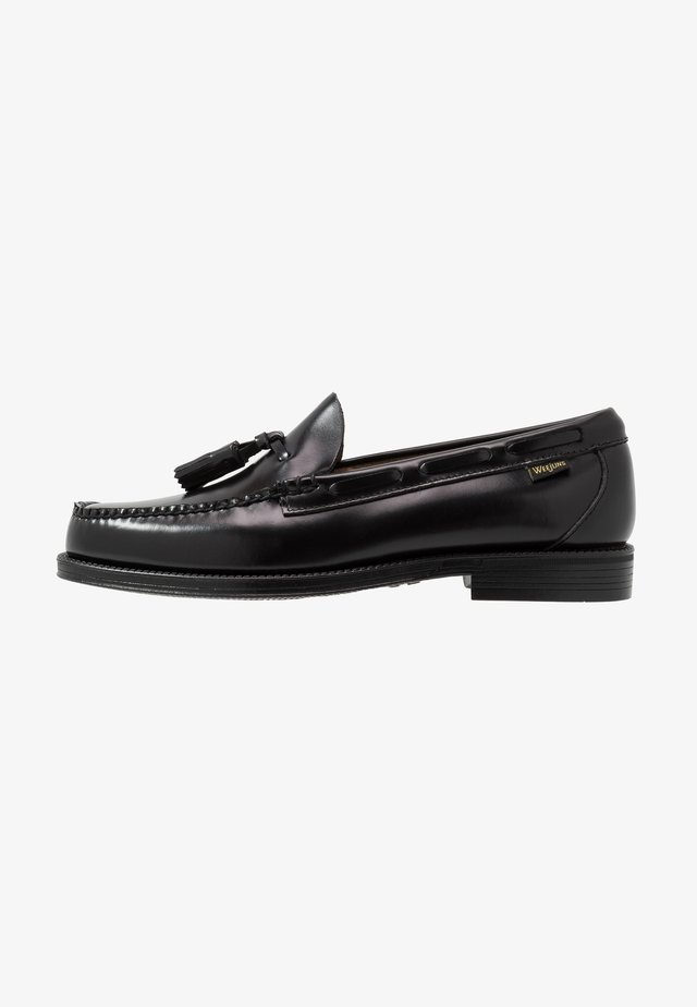 WEEJUN LARKIN TASSEL - Business-Slipper - black