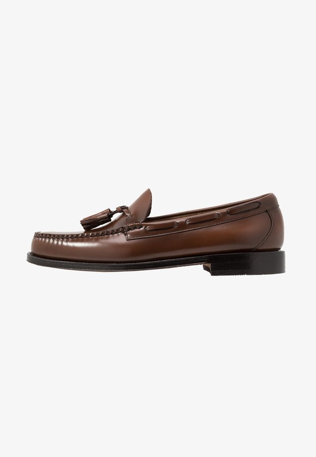 WEEJUN LARKIN TASSEL HERITAGE - Business-Slipper - mid brown