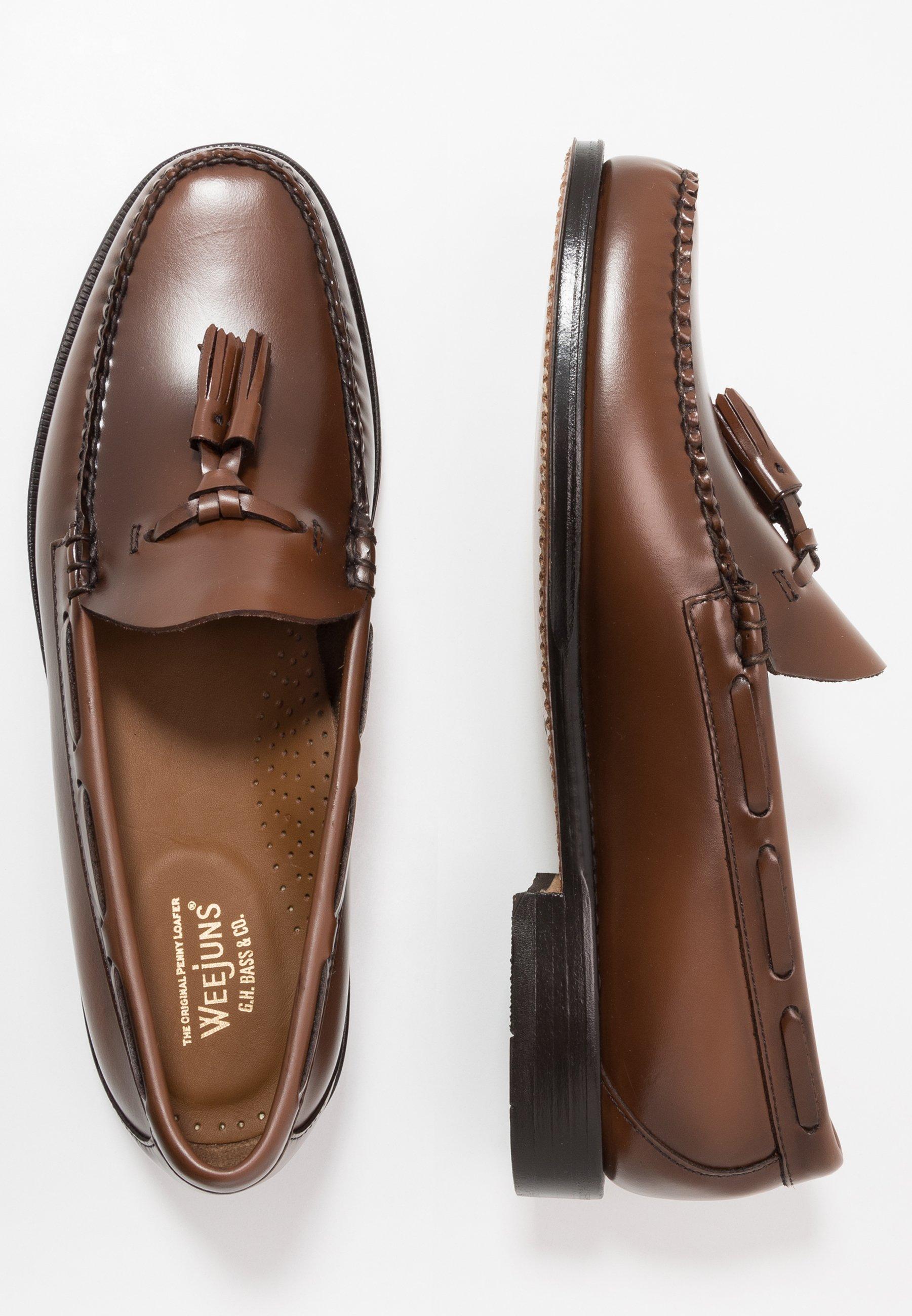 G. H. Bass & Co. WEEJUN LARKIN TASSEL HERITAGE - Mocassins - mid brown