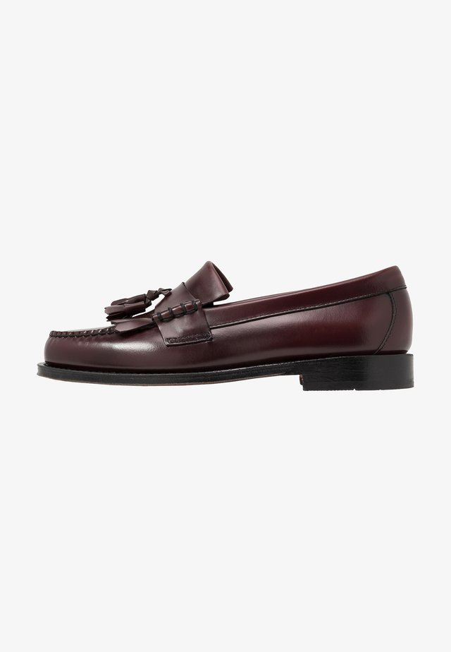 WEEJUN LAYTON KILTIE HERITAGE - Business-Slipper - wine