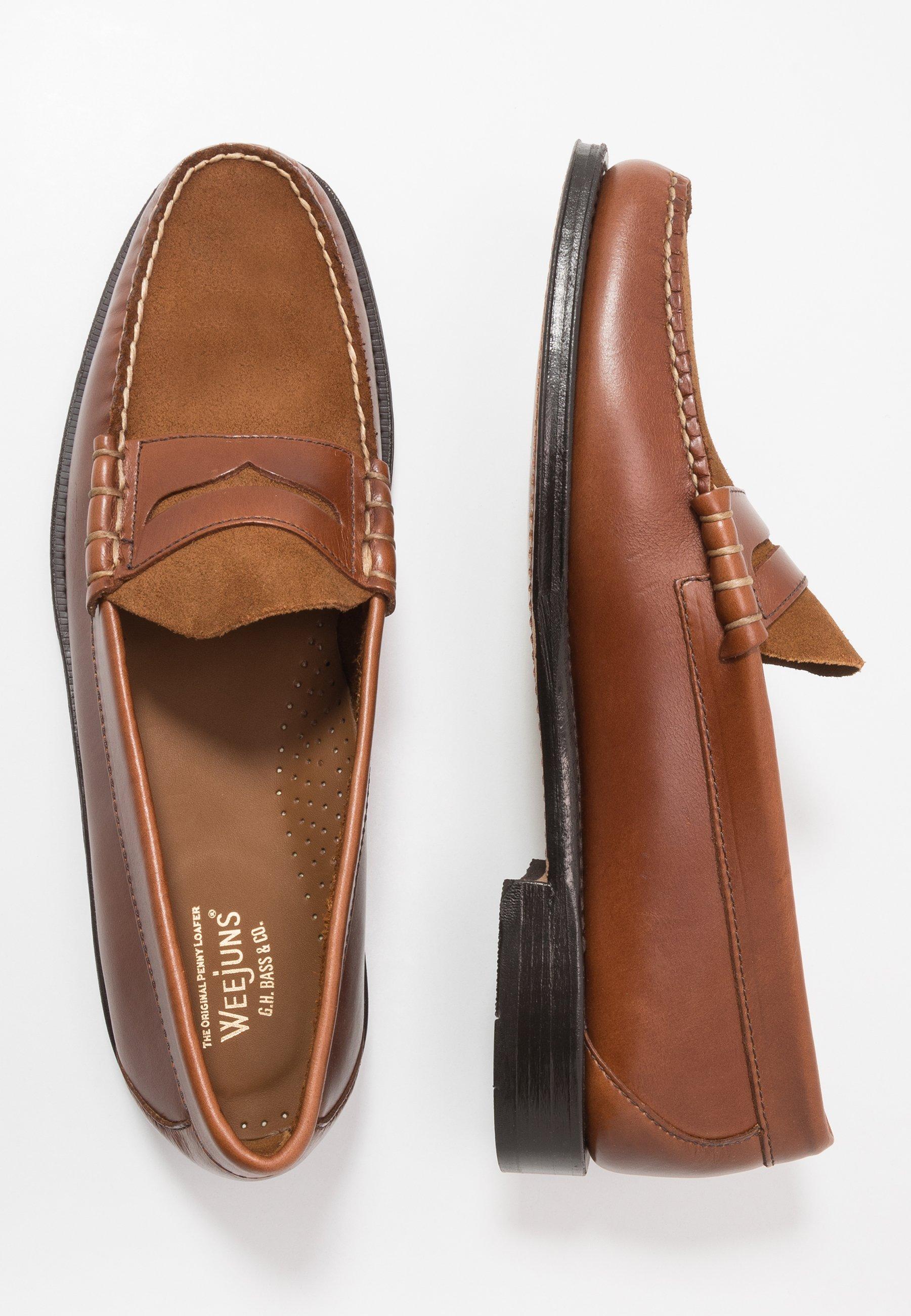 G. H. Bass & Co. WEEJUN LARSON - Mocassins - mid brown