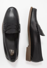 G. H. Bass & Co. - EASY WEEJUN LARSON PULL UP - Slip-ons - black - 1