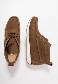 G. H. Bass & Co. - SCOUT RUNNER MID - Volnočasové šněrovací boty - mid brown - 1