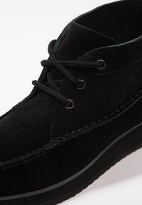 G. H. Bass & Co. - SCOUT RUNNER MID - Volnočasové šněrovací boty - black - 5