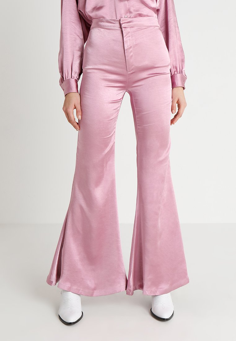 Ghospell - GLOWING GROOMED TROUSERS - Kalhoty - pink
