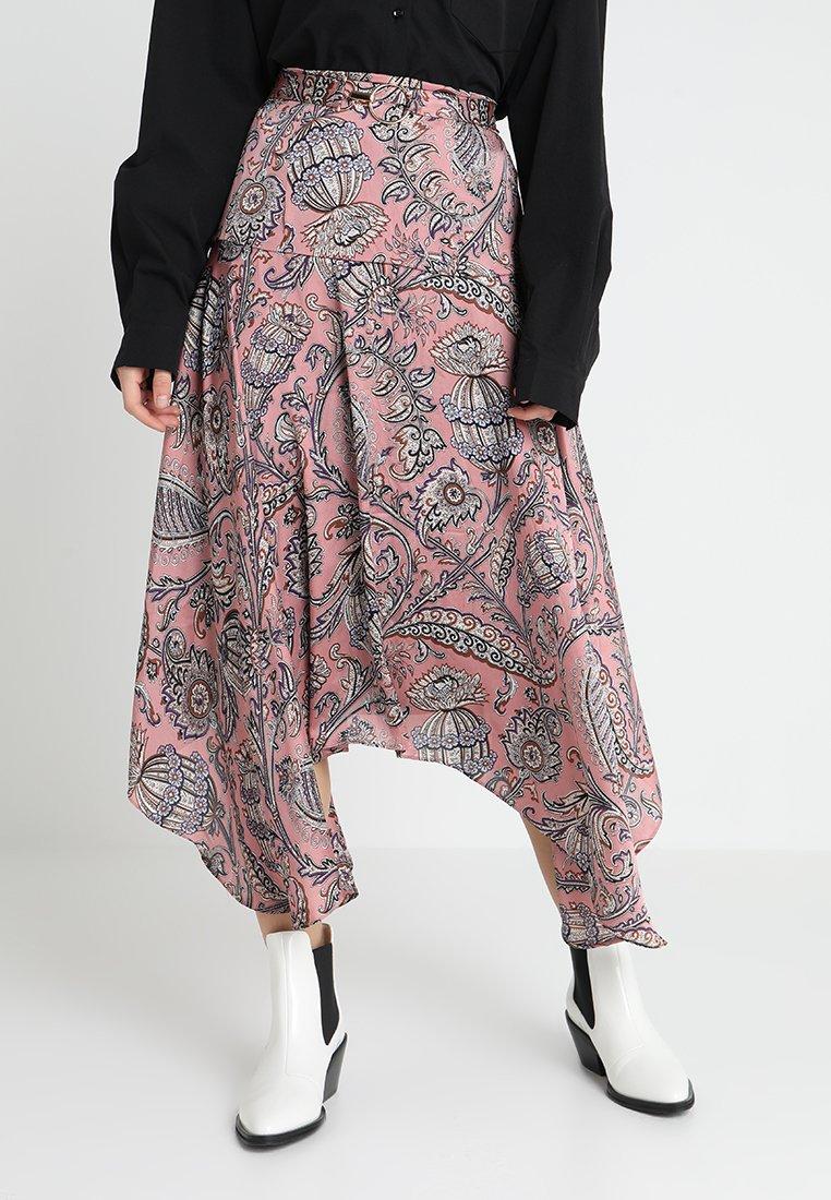 Ghospell - SET FREE MIDI SKIRT - A-line skirt - pink