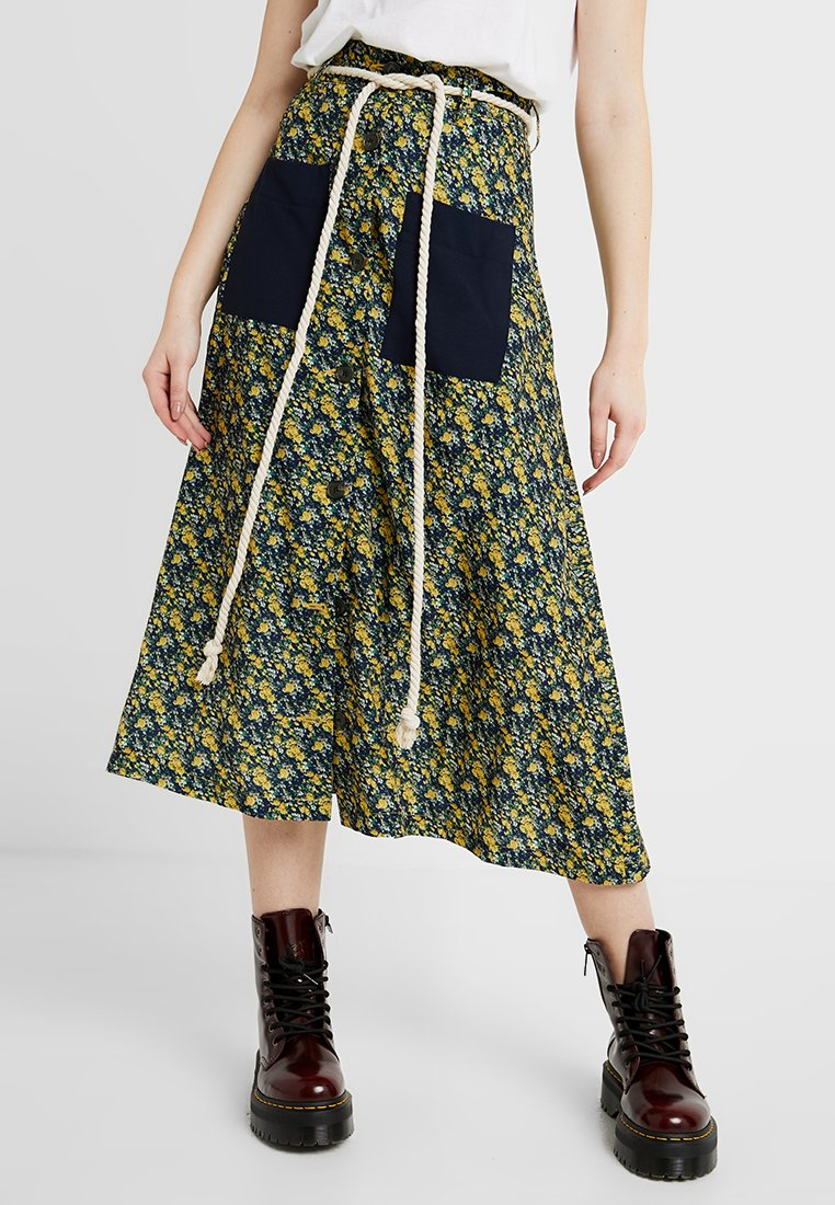 Ghospell - GRAND TETON MIDI SKIRT - A-Linien-Rock - multi