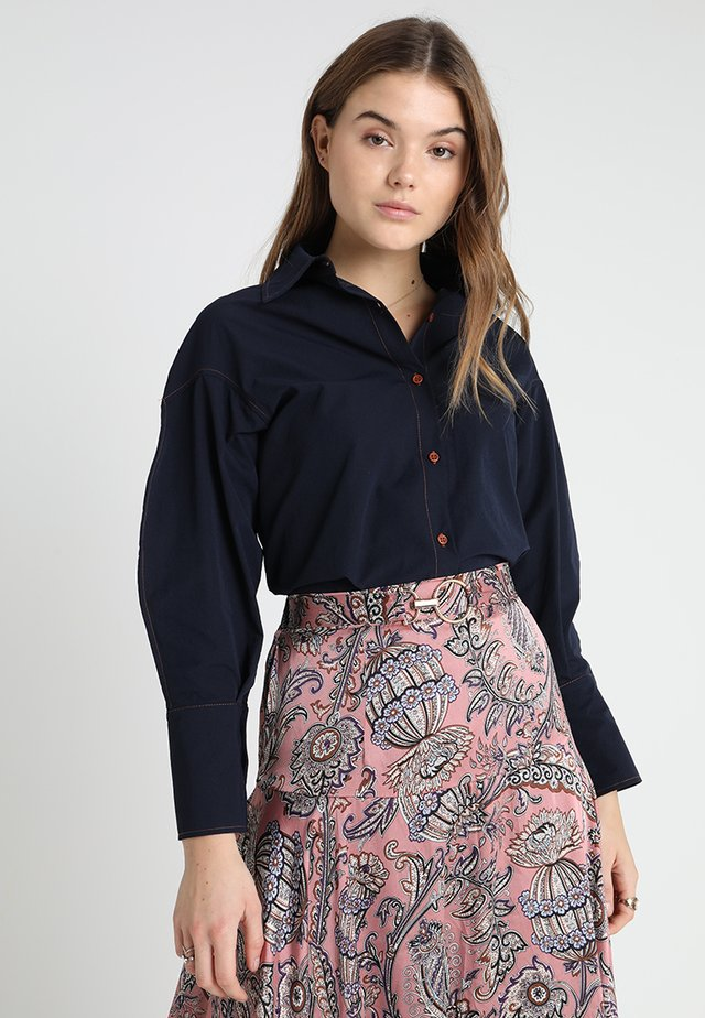 PRETTY PACE - Overhemdblouse - navy