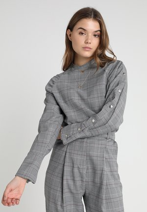 DARE TO DRESSAGE POPPER  - Blouse - grey