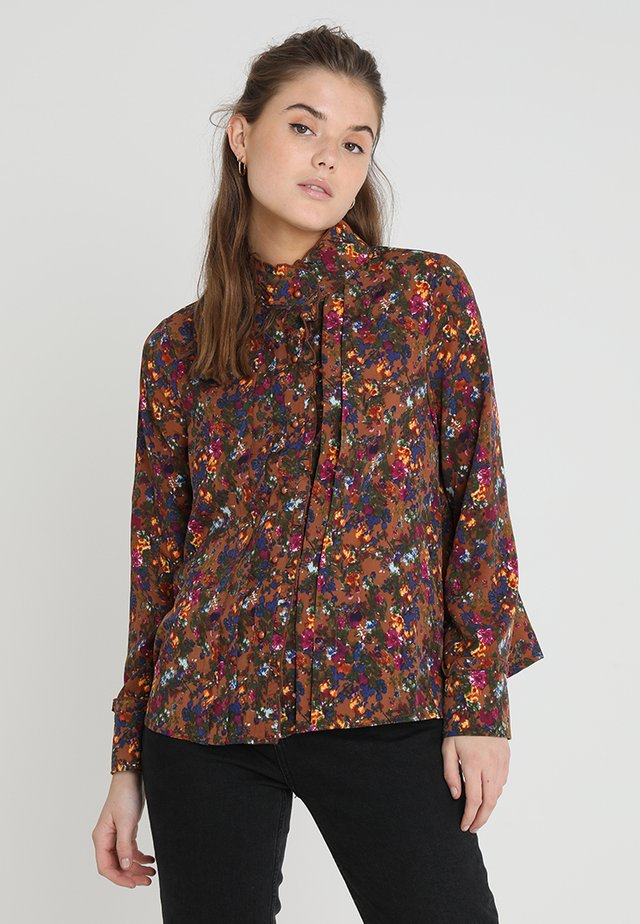 DOWNTOWN BLOUSE - Button-down blouse - multi