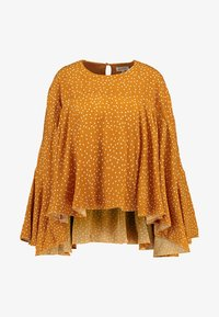 Ghospell - BIG POND BATWING - Blouse - yellow - 4