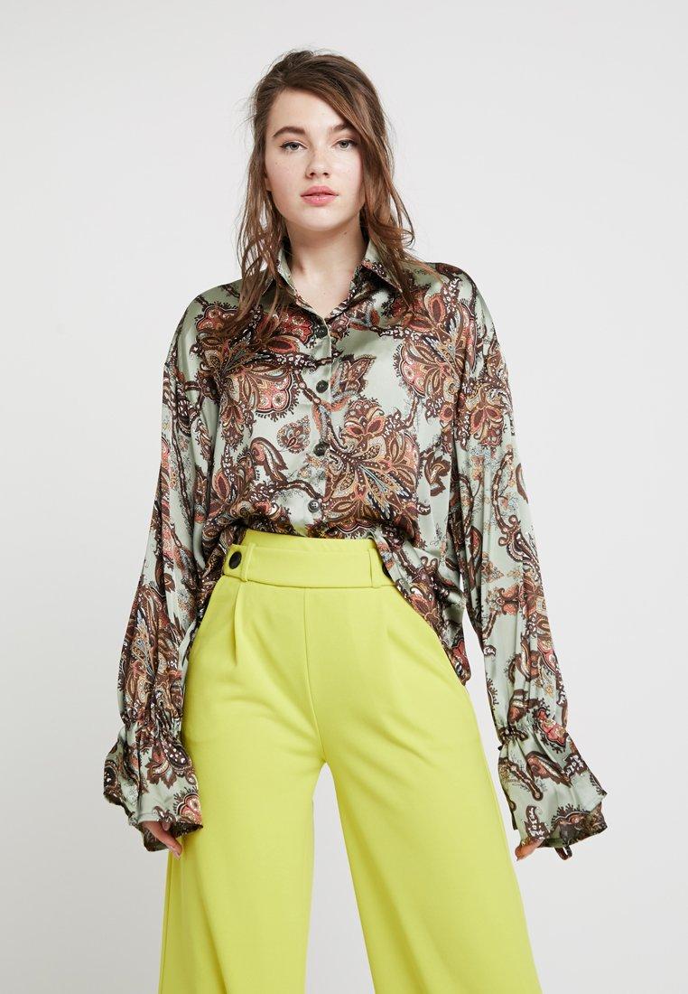 Ghospell - ATLAS - Button-down blouse - green