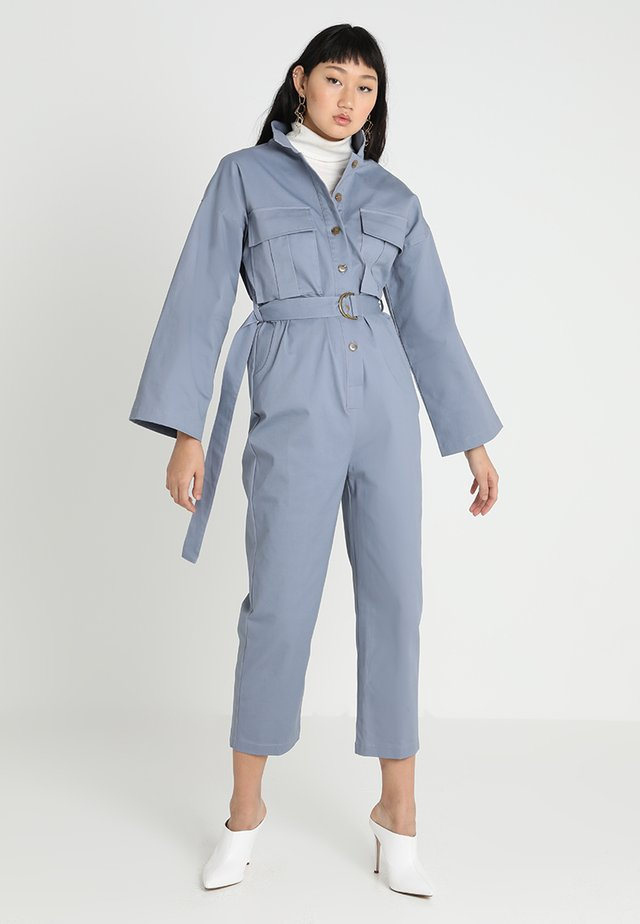ON THE GO BOILER - Jumpsuit - blue