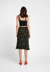 Ghost - JODIE SKIRT - A-snit nederdel/ A-formede nederdele - black/yellow - 3