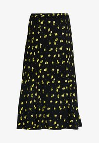 Ghost - JODIE SKIRT - A-snit nederdel/ A-formede nederdele - black/yellow - 5