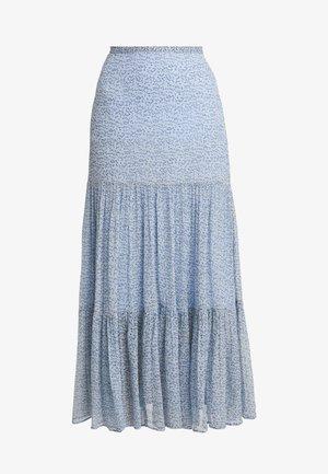 FELICIA SKIRT - Veckad kjol - blue