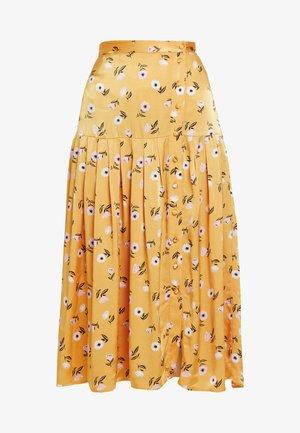 SARA SKIRT - A-line skirt - orange