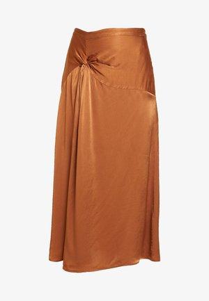 ADELE SKIRT - Áčková sukně - brown