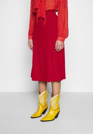 GEMMA SKIRT - A-line skirt - chilli paper