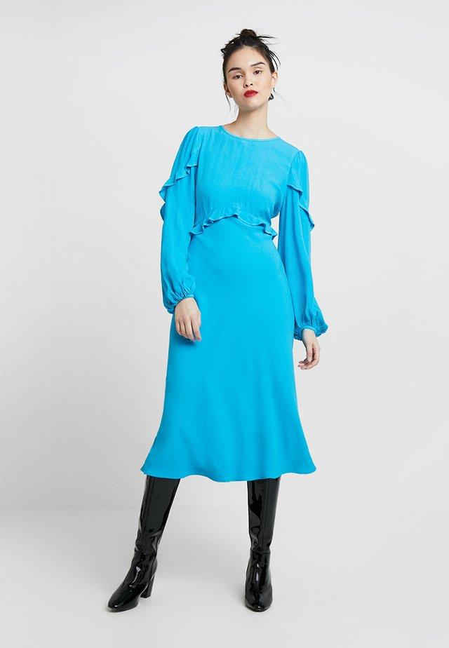 NIAMH DRESS - Vapaa-ajan mekko - dark turquoise