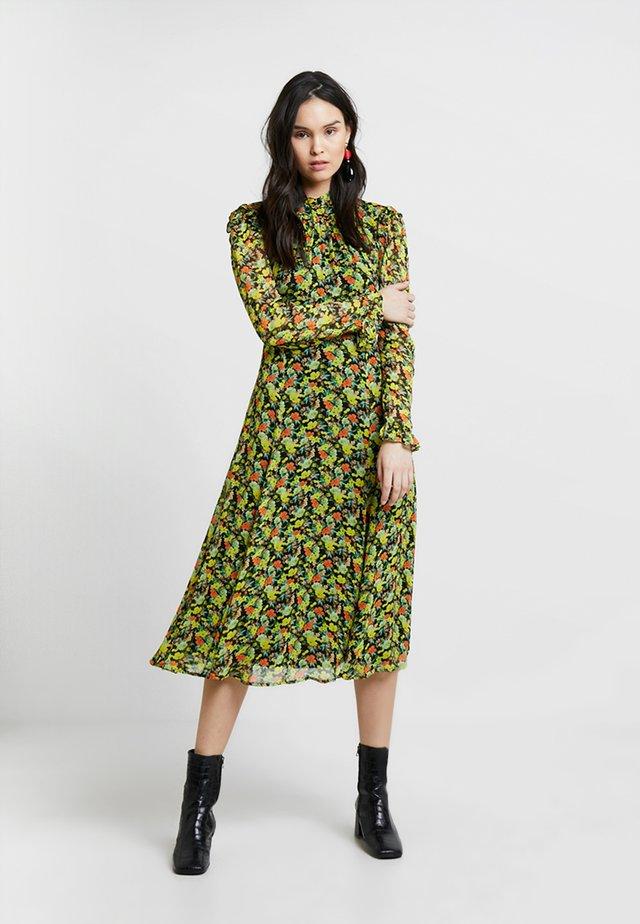 NICOLA DRESS - Vapaa-ajan mekko - yellow