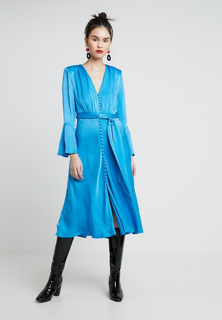 Ghost - ANNABELLE DRESS - Blusenkleid - blue