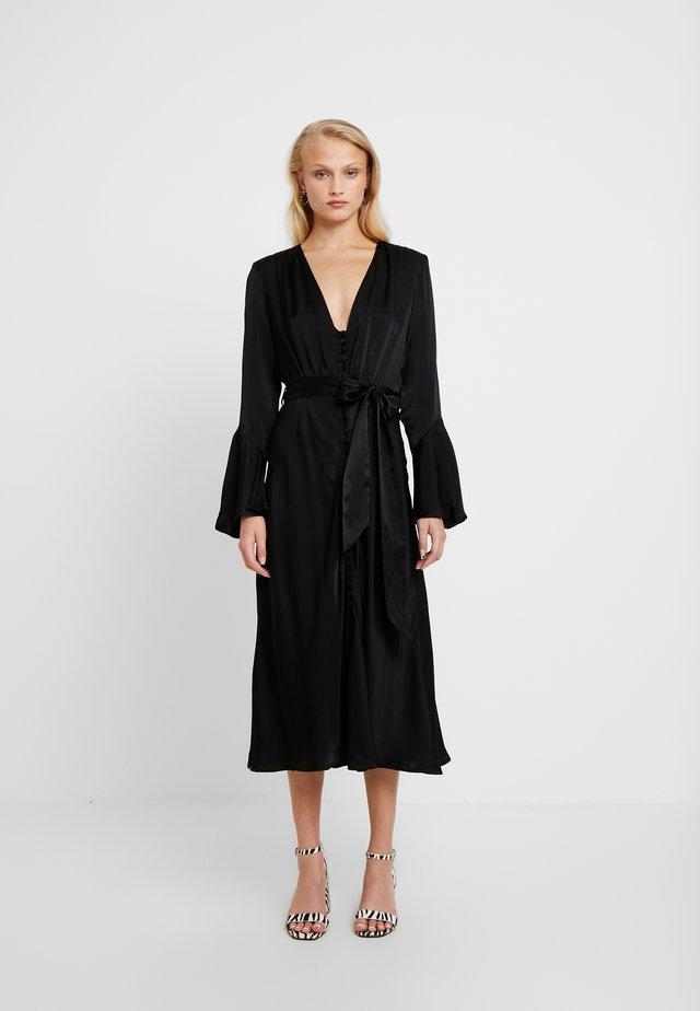 ANNABELLE DRESS - Skjortekjole - black