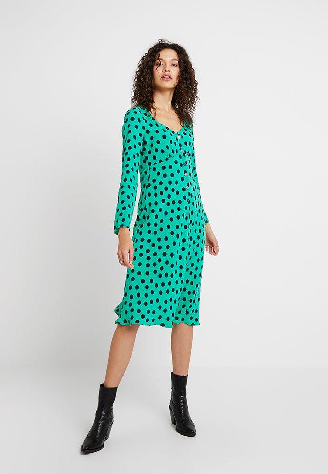 JAMIE DRESS - Shirt dress - green