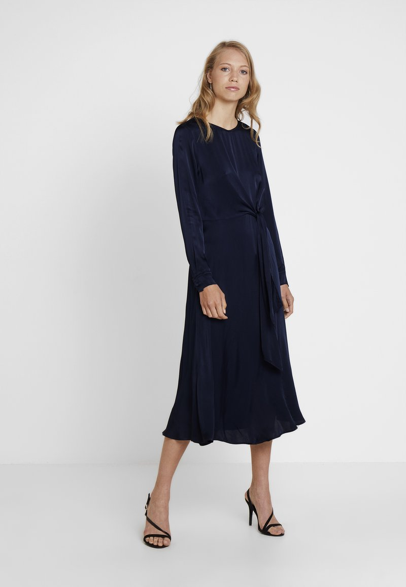 Ghost - MINDY DRESS - Vestido largo - navy