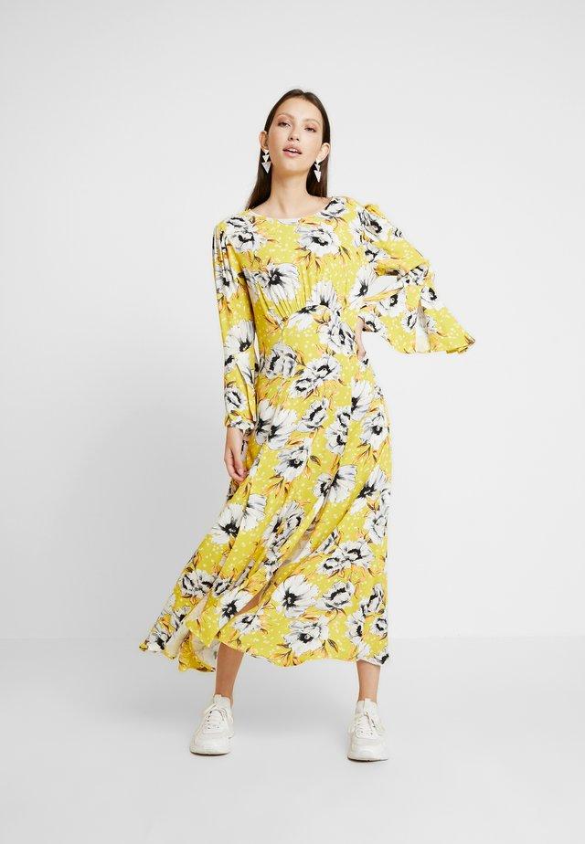 LUISA DRESS - Maxikjole - yellow